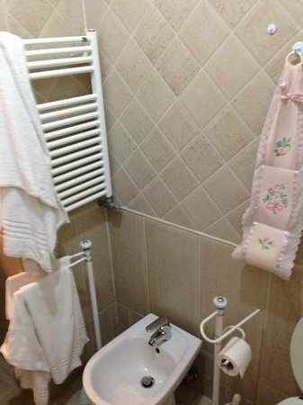 The Center of Rome B&B : bagno