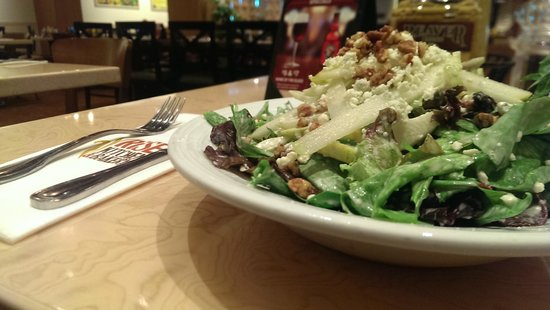 Rise Kitchen & Bakery : My favorite is the Pear and Gorgonzola Salad!