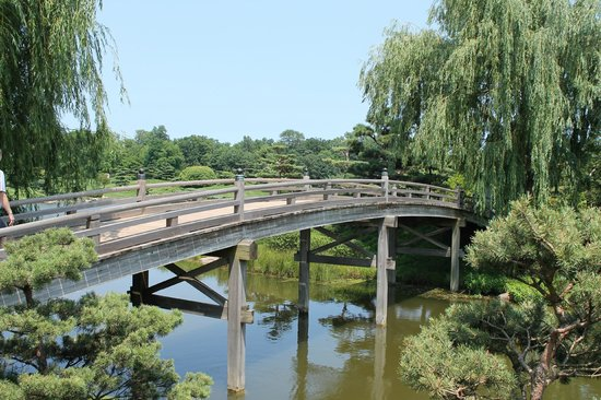 Perfect Chicago Botanic Garden, Bridge To Japanese Garden