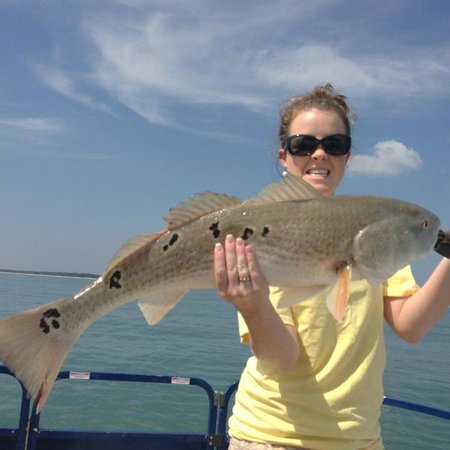 Catch-1 Charters - Capt. Shannon's Fishing Charters: Red Drum over 30 inch....