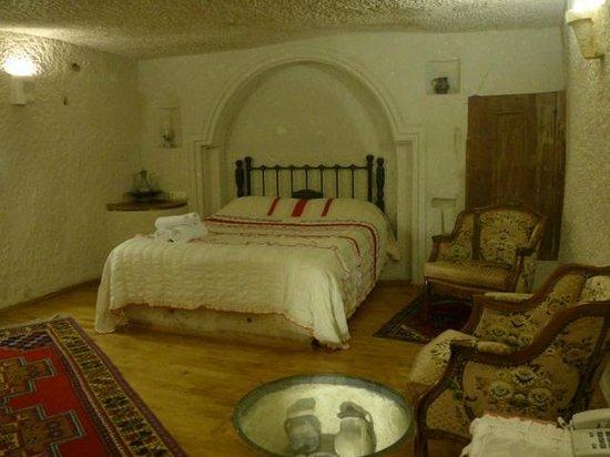 Village Cave House Hotel : 洞窟タイプの部屋です