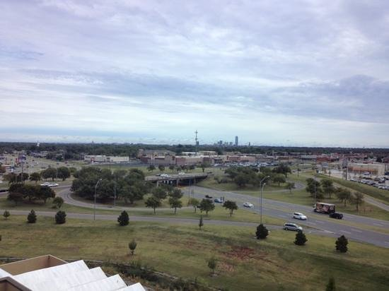 Crowne Plaza Oklahoma City : view from the 7th floor of downtown