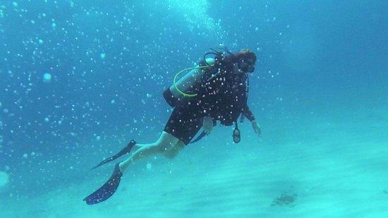 Carey Dive Center: Me, under the sea