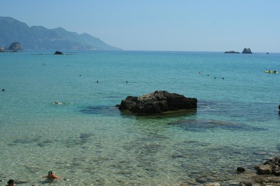 Pelekas Beach: Great place to snorkel