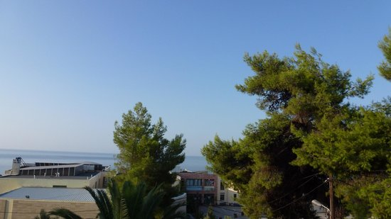 Agia Paraskevi, Hellas: view of the spa from our balcony