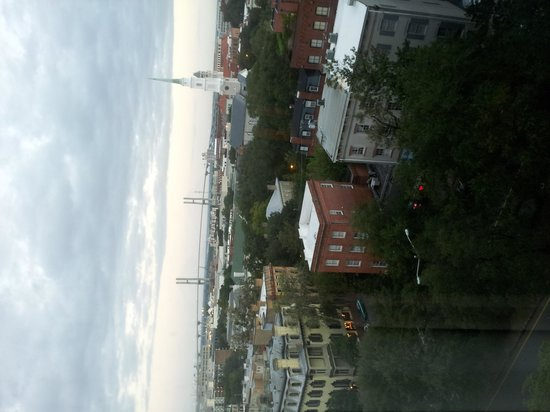 Hilton Savannah Desoto: City view from our window