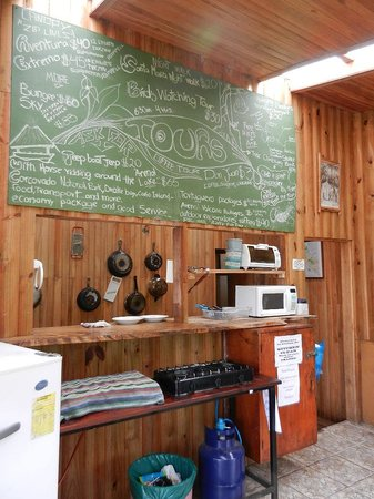 Casa Tranquilo Hostel: the tour board