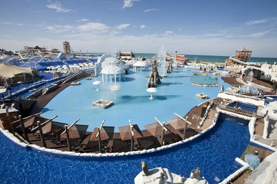 Ras Al Khaimah, Verenigde Arabische Emiraten: Penguin Bay and Snow River