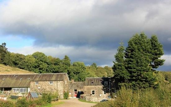 Comrie Croft Eco Hostel & Camping: the Comrie Croft buildings