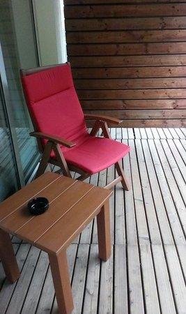 Hotel Rothof Bogenhausen: Der Balkon