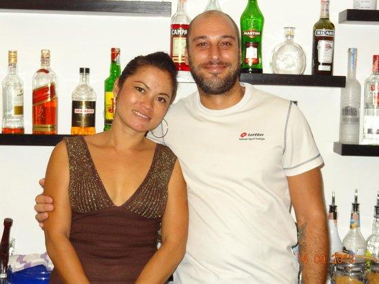 The Place... : Le chef et sa charmante serveuse