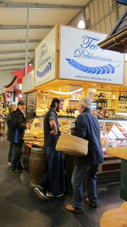 Kleinmarkthalle : An Italian stall where we had a nice breakfast
