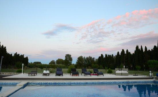 Le Mas des Chutes : Pool