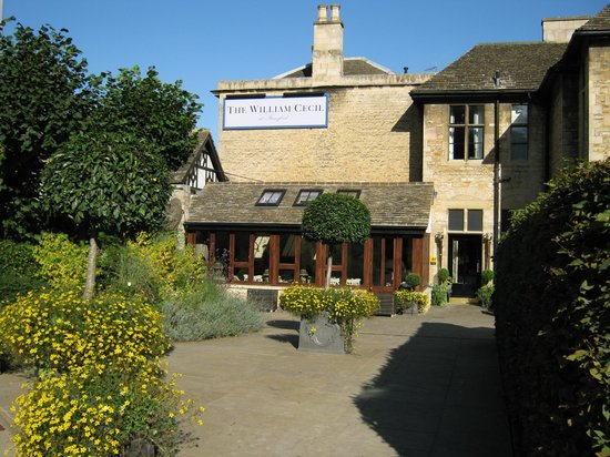 The William Cecil at Stamford: The hotel in the sun
