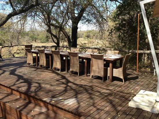 Dulini Lodge: A lovely spot for lunch!