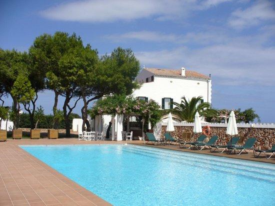 Sant Joan De Binissaida: Pool area