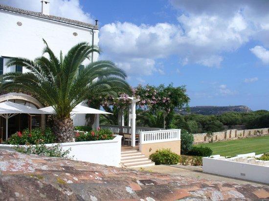Sant Joan De Binissaida: The patio area