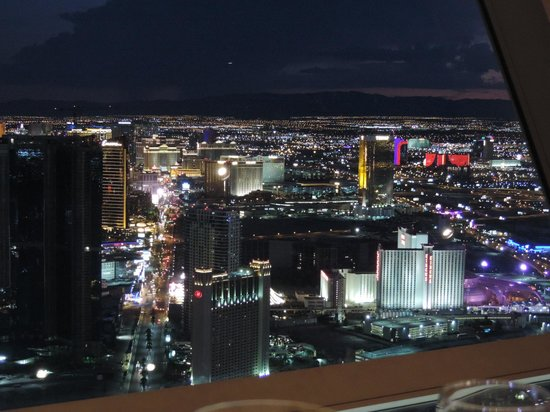 Top Of The World Restaurant At Stratosphere View From
