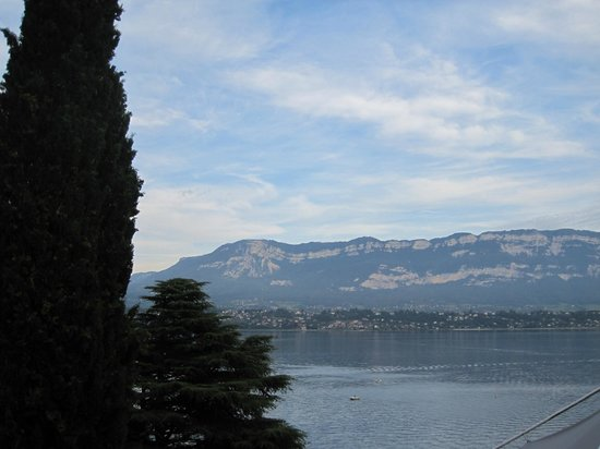 Ombremont : the view from the terrace