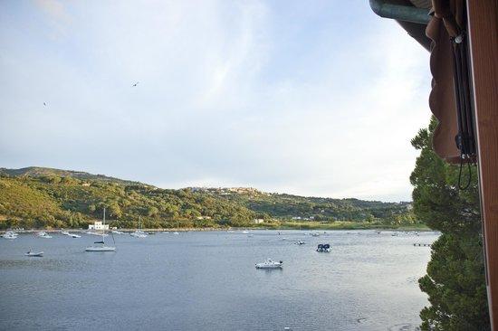 Ristorante La Caletta : la vista sul porto