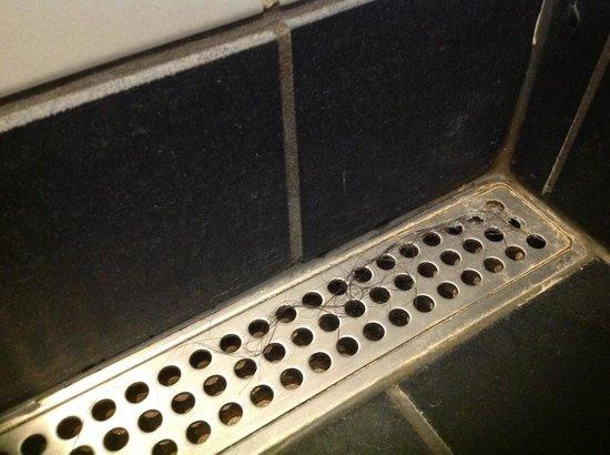 Hotel Svanen: Skittent bad
