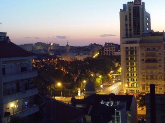 Turim Iberia Hotel: Vista do quarto 907 - alvorecer