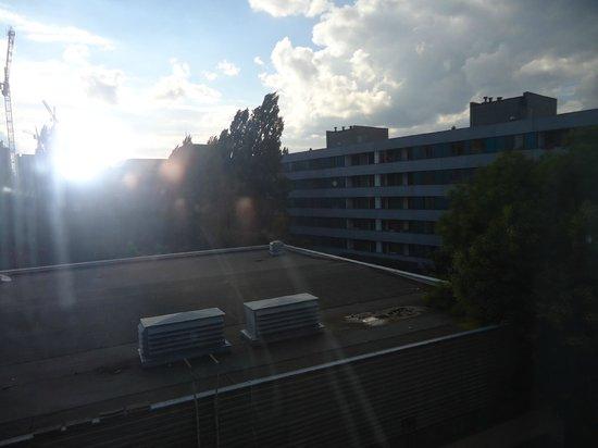 Cityhostel Berlin: Vista desde habitación