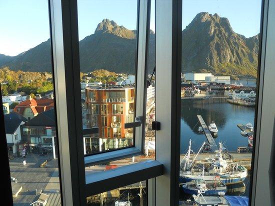 Thon Hotel Lofoten: So-called mountain view