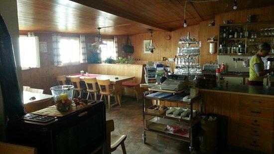 Berghotel Faulhorn: Kitchen / Bar area - Faulhorn