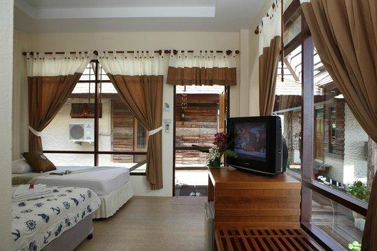 Salakphet Resort : ภายในห้องพัก 2 ท่าน/ Deluxe room