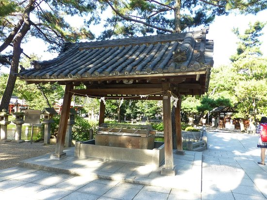 Sumiyoshi-taisha Shrine: 景色