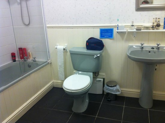 Rosecraddoc Manor: Bathroom