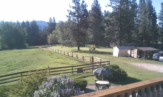 Deer Crossing Bed and Breakfast : View from Big Sky suite
