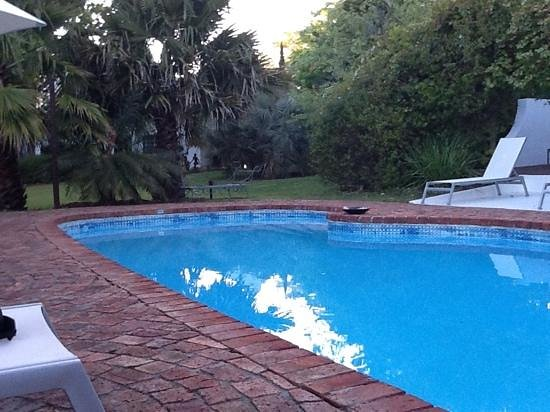 Rothman Manor: de tuin met zwembad