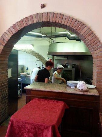 Il Bargello : cucina a vista