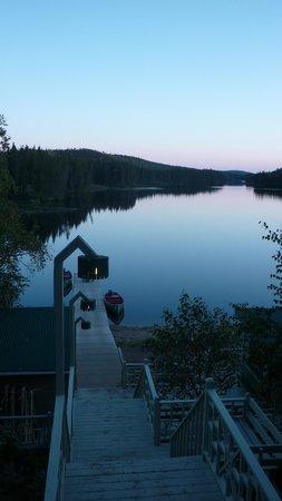 La Seigneurie du Triton : vue sur le lac