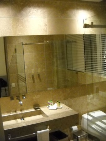 Allure Chocolat Hotel By Karisma: Very modern and clean bathroom
