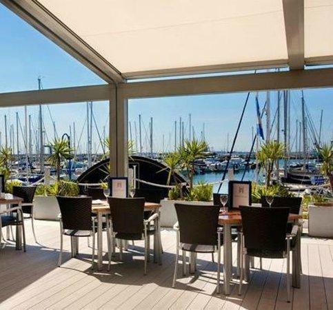 Hotel Puerto Sherry: Comer o cenar con estas vistas no tiene precio