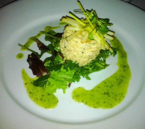 Bishops Dining Room Wine Bar Cromer Crab Salad With Apple And Leek