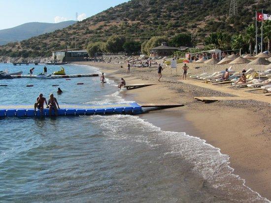 Latanya Park Resort: La spiaggia