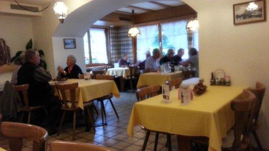 Hotel Wetterhorn: Dining Room - Wetterhorn