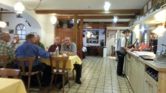 Hotel Wetterhorn : Dinning room - Wetterhorn