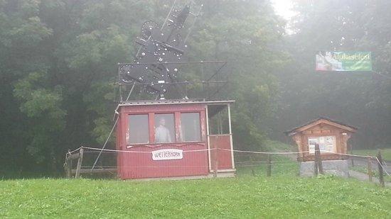 Hotel Wetterhorn: 1st Cable Car in Switzerland - Wetterhorn