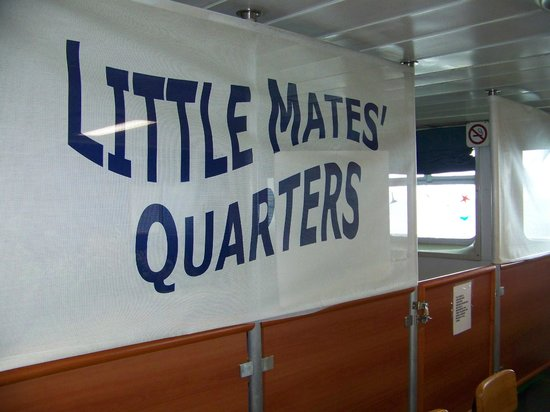 Bay Ferries: Where the little ones play on the St John Digby NFL Ferry - Princess of Arcadia