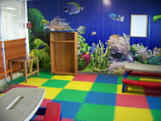 Bay Ferries: Little Mates room for the tots on the St John Digby NFL Ferry - Princess of Arcadia