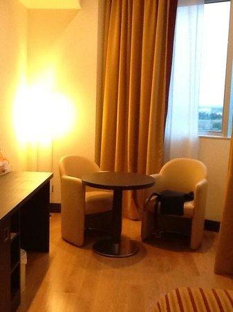 Hotel Diamante Alessandria: salottino