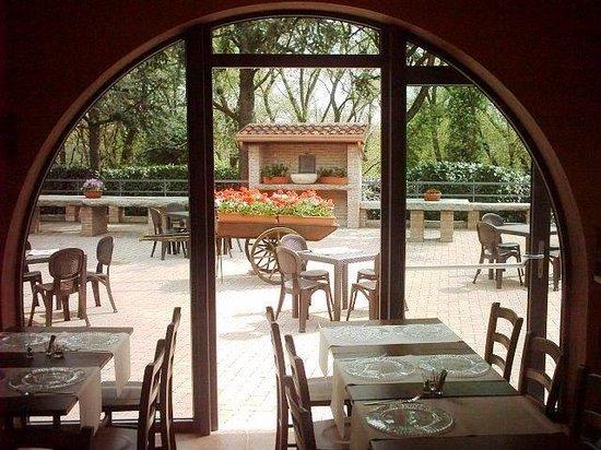 Osteria del Sagrantino: il giardino
