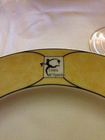 L'Osteria del Vignaiolo : piatto