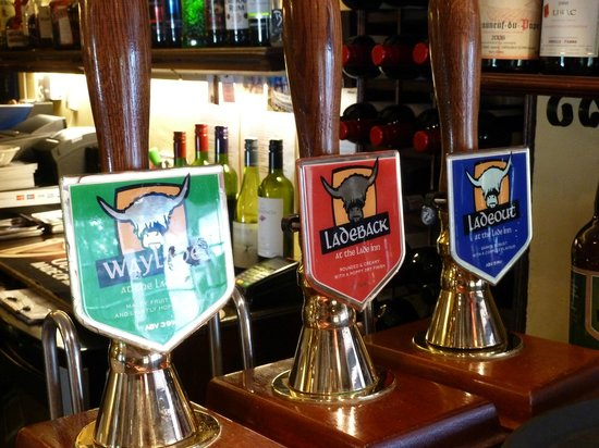 The Lade Inn : Our three house ales