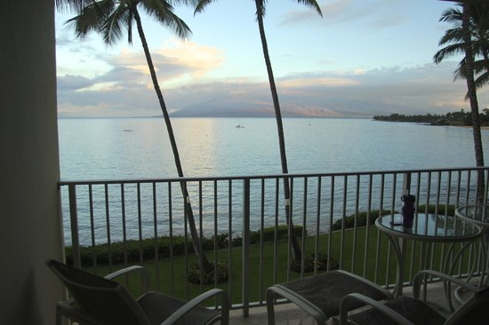 Royal Mauian: Gorgeous sunrise view from lanai